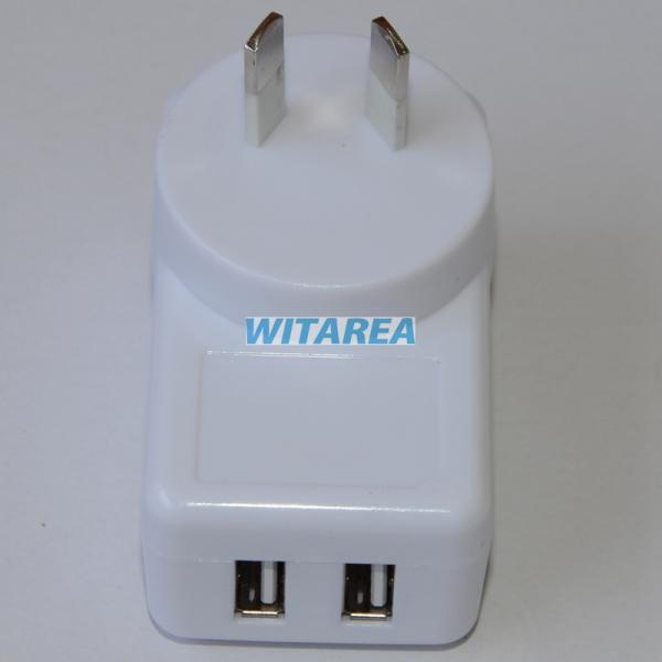 Australia Plug Wall Charger 5v 2a Usb Charger 5v 2a Dual