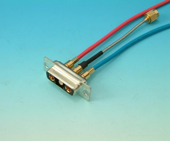 Custom D Sub Cable Assemblies : Professional w c cables custom combination d