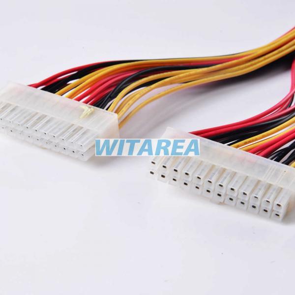 5557-24y 2*12 molex mini-fit jr ™ power connectors wire harness