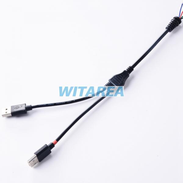 Professional Custom Y Splitter Usb Cable 2 Way Usb Y